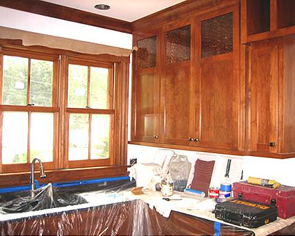 kitchen and cabinet refinishing